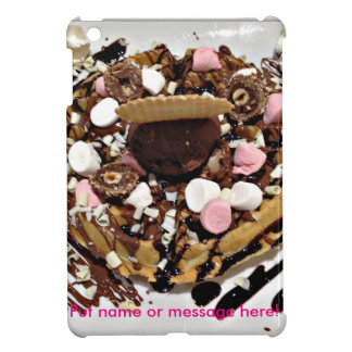 Personalised Marshmallow and Chocolate Cake iPad Mini Case
