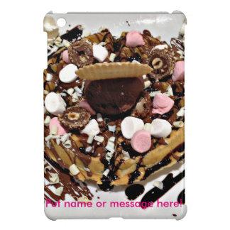 Personalised Marshmallow and Chocolate Cake iPad Mini Cover