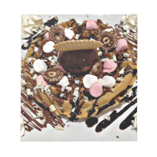 Personalised Marshmallow and Chocolate Cake Notepad