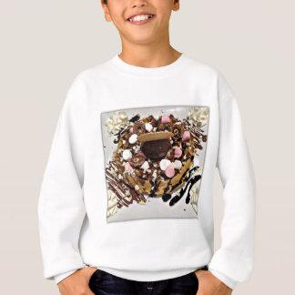 Personalised Marshmallow and Chocolate Cake Sweatshirt