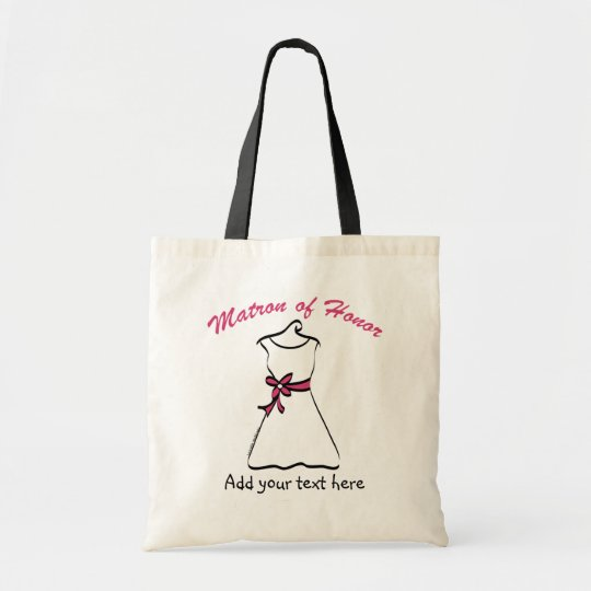 Personalised Matron of Honour Gifts Tote Bag