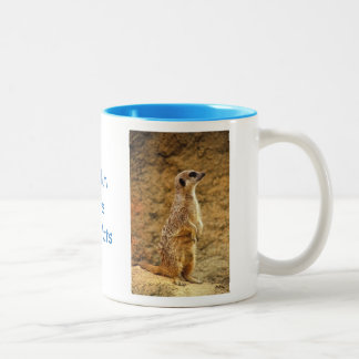 Personalised Meerkat Mug