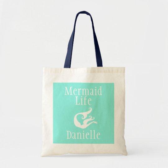 Personalised Mermaid Life Tote