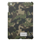 Personalised Military Camouflage iPad Mini Case