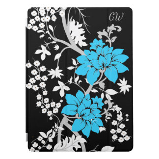 Personalised Modern floral iPad Pro Cover