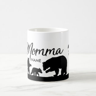 Personalised Momma Bear cup