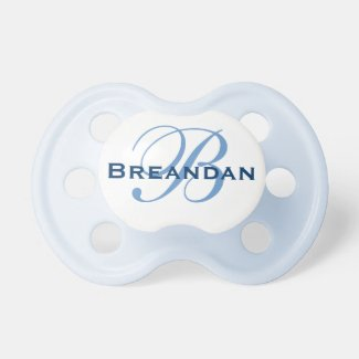 Personalised Monogram Pacifier