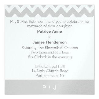 Personalised Monogram Wedding Invitations