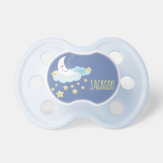 Personalised Moon and Stars Bedtime Illustration Dummy