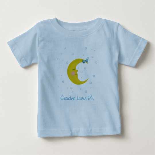 Personalised Moon Face Tshirt