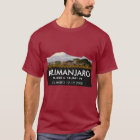 Personalised Mount Kilimanjaro Climb Commemorative T-Shirt