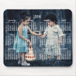 Personalised Mouse Pad Calendar 2016