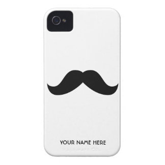 Personalised Moustache Case-Mate iPhone 4 Cases