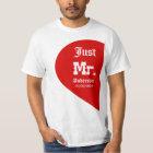 Personalised Mrs. & Mr. set x 2 T-Shirt