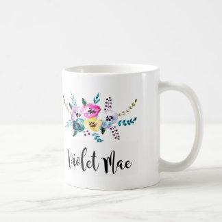 personalised mug, custom monogrammed mug