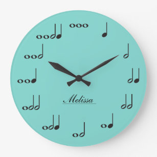 Custom Music Wall Clocks | Zazzle.co.uk