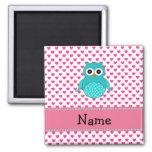 Personalised name cute owl