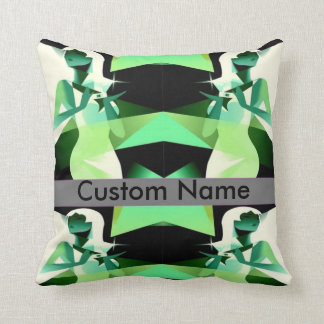 personalised name girls best friend pillow