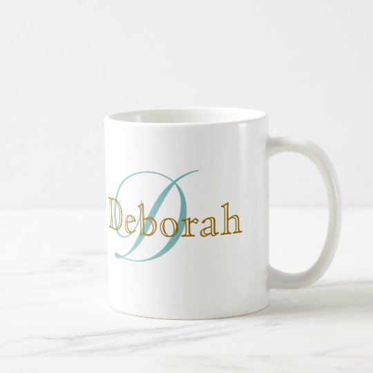 personalised name ~ monogram idea coffee mug