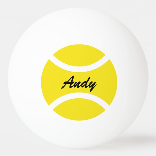 GIFTS PERSONALISED FUN BIRTHDAY BADGE ANY AGE /& NAME TABLE TENNIS NEW