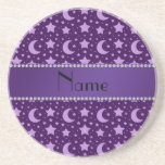 Personalised name purple stars and moons