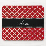 Personalised name Red moroccan