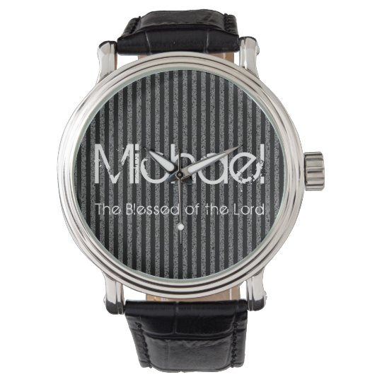 Personalised Name The Blessed of the Lord Watch