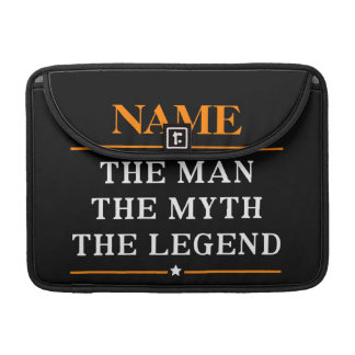 Personalised Name The Man The Myth The Legend Sleeve For MacBooks