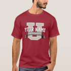 Personalised Name University Cool Funny Family T-Shirt