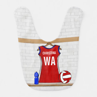 Personalised Netball uniform Bib