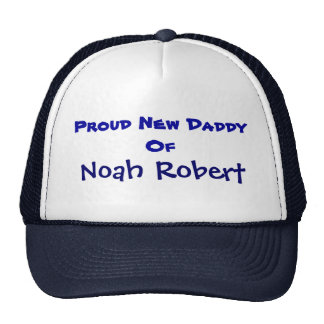 Personalised New Daddy Trucker Hat
