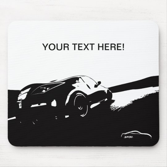 Personalised Nissan 350Z Mouse Pad