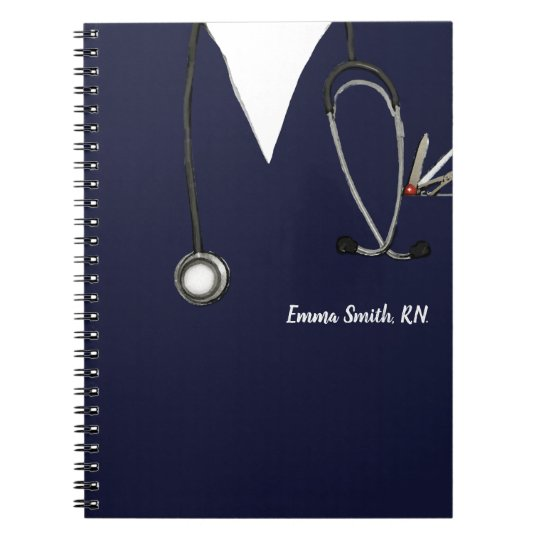 personalised nurse gift ideas notebook