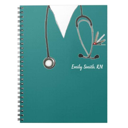 sc 1 st  Zazzle UK & personalised nurse gift ideas notebook | Zazzle.co.uk