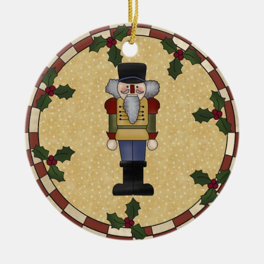 Personalised Nutcracker Christmas Ornament