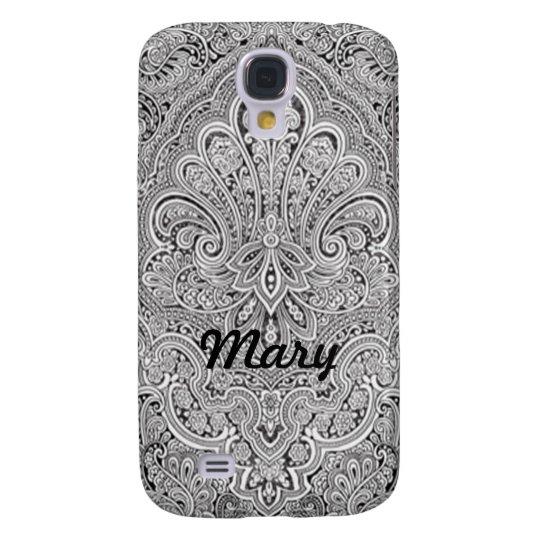 Personalised Paisley Art HTC Vivid Phone Case