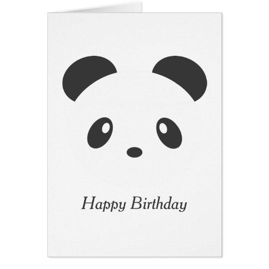 Personalised panda birthday card zazzle personalised panda birthday card bookmarktalkfo Image collections