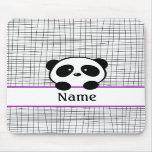 Personalised Panda Mousepad