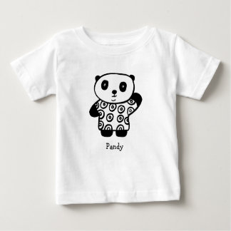 Personalised Pandy the Panda Baby T-Shirt