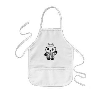 Personalised Pandy the Panda Kids Apron