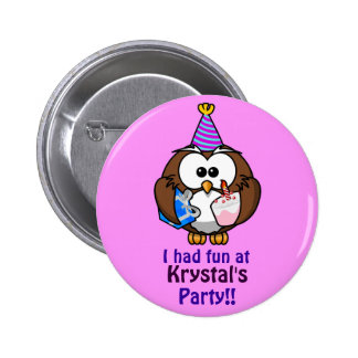 Personalised Party Badge