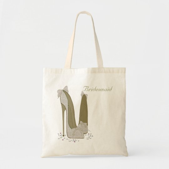 Personalised Party Stiletto Shoe Art Tote Bag