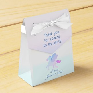 Personalised Pastel Unicorn | Thank You Favour Box
