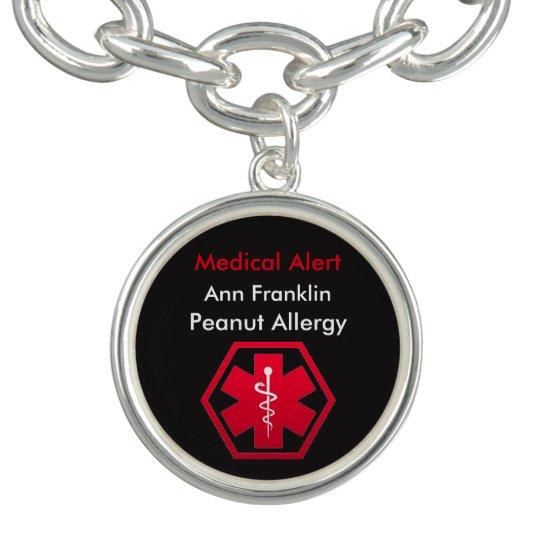 Personalised Peanut Allergy Medical Alert