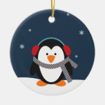 Personalised Penguin Christmas Ornament