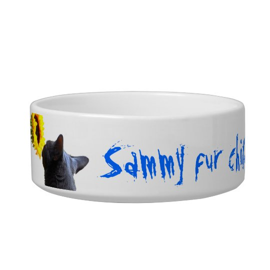 Personalised Pet Bowl Name & Photo