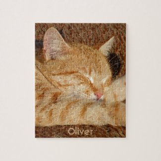 Personalised pet's photo puzzle