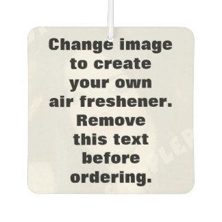Personalised photo air freshener. Make your own! Car Air Freshener