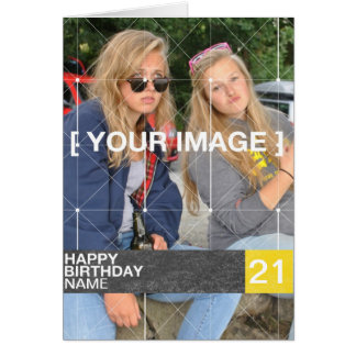 Personalised Photo Birthday Card