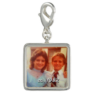 personalised photo charm